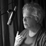 Janis at SKYBOAT MEDIA recording her autobiography - March 2012