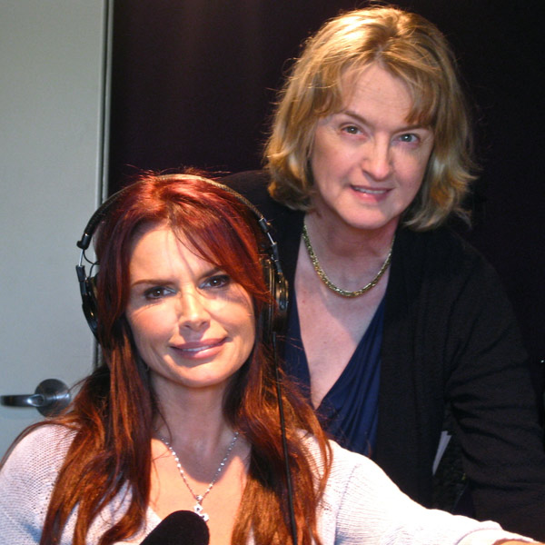 Touched by Roma Downey during recording for Zondervan