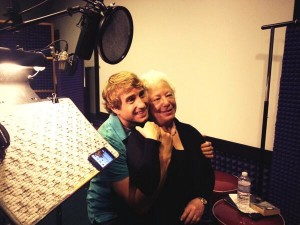 Kirby Heyborne and Janis Ian in the booth!