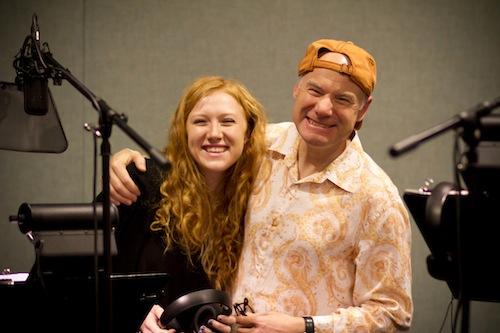 Jim and Taylor Meskimen photo by Alex Linares