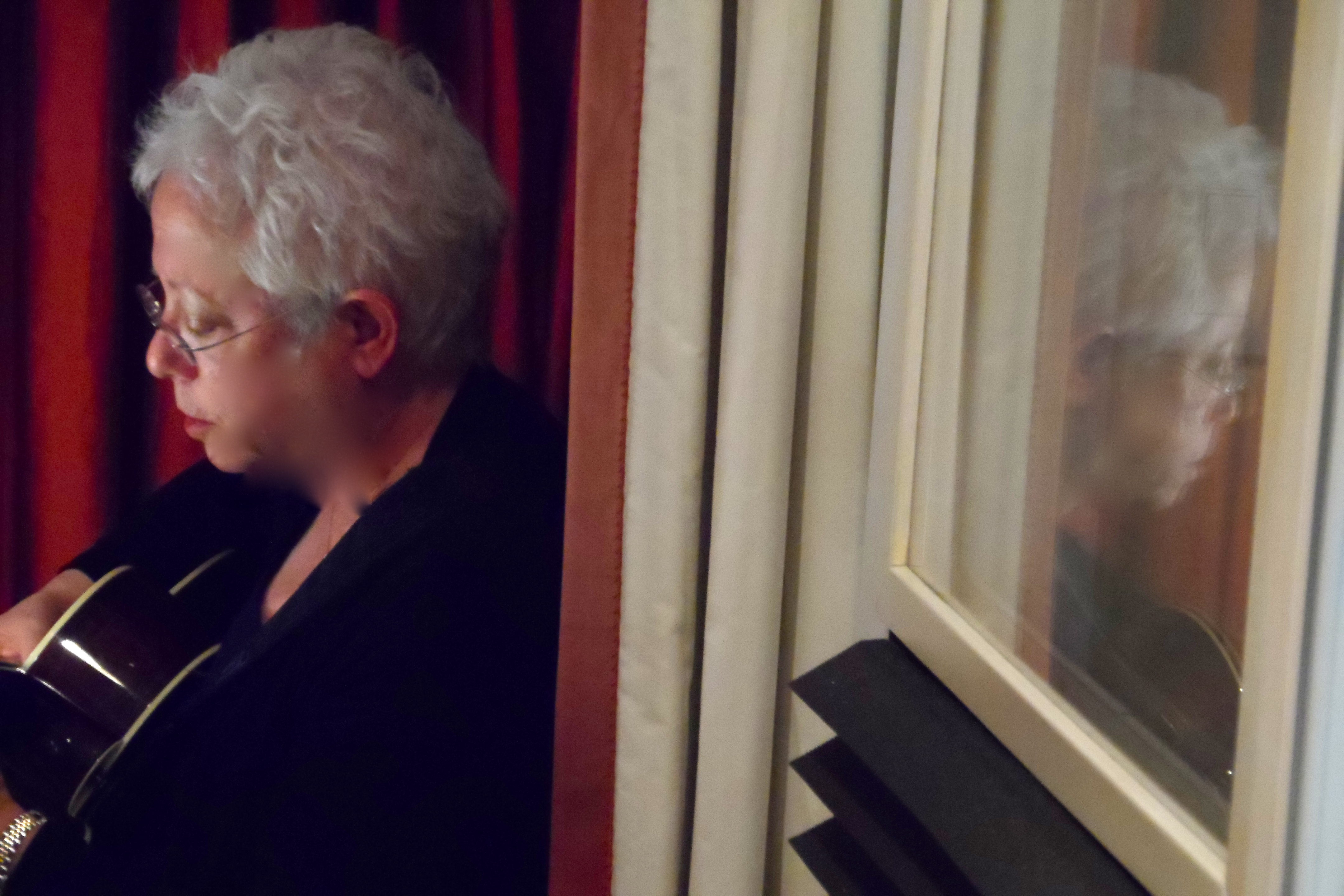 Janis Ian at Skyboat recording Singer and the Song