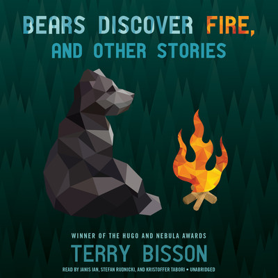 Audiobook cover-Bears Discover Fire