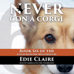 Audiobook cover-Never Con a Corgi
