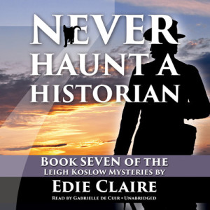 Audiobook cover - Never Haunt a Historian