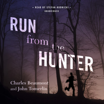 audiobook cover - run from hunter