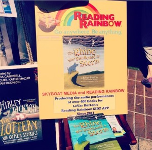 LA Times FoB 2015 - Reading Rainbow poster