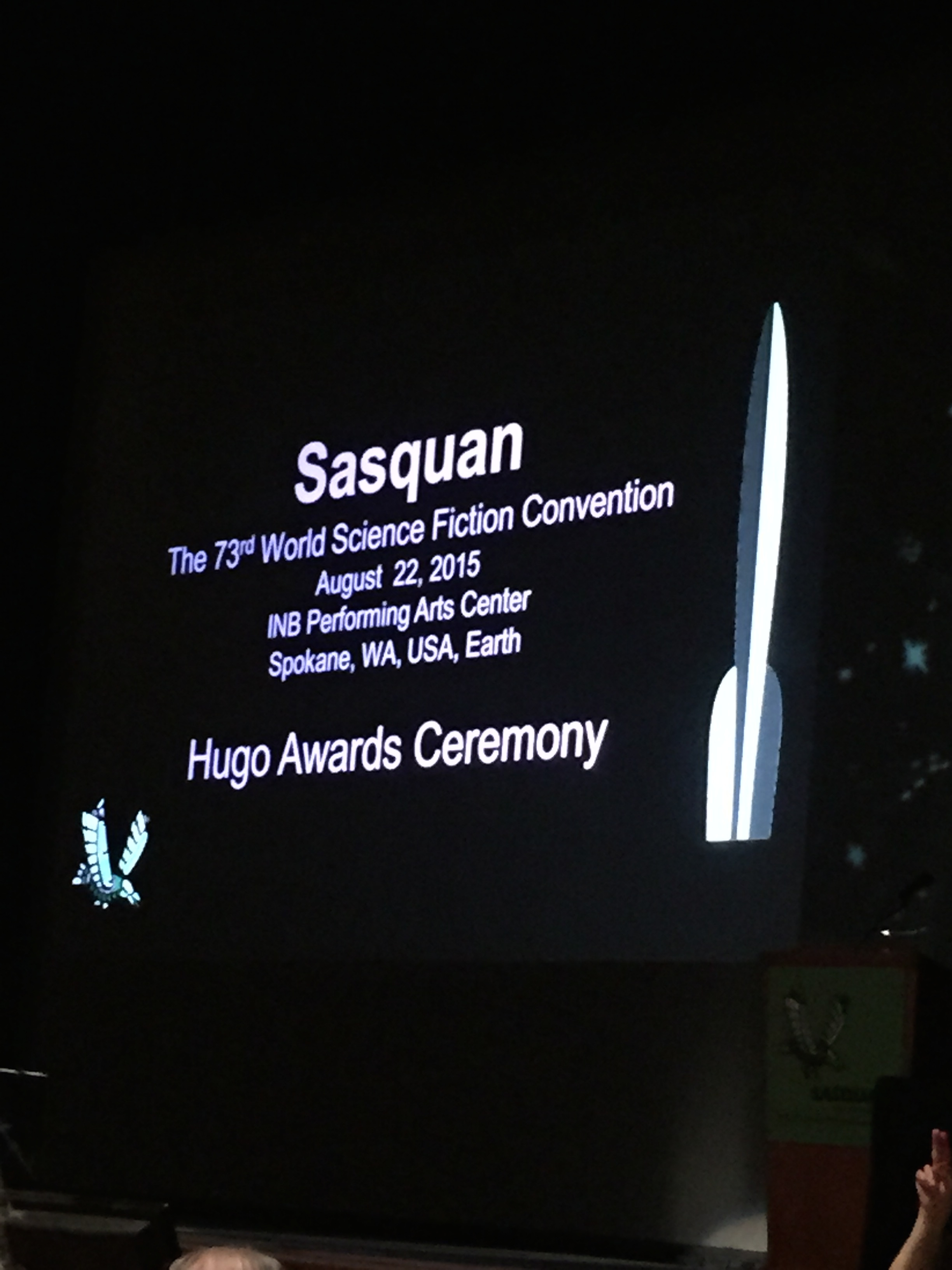 HUGO Show Title Card