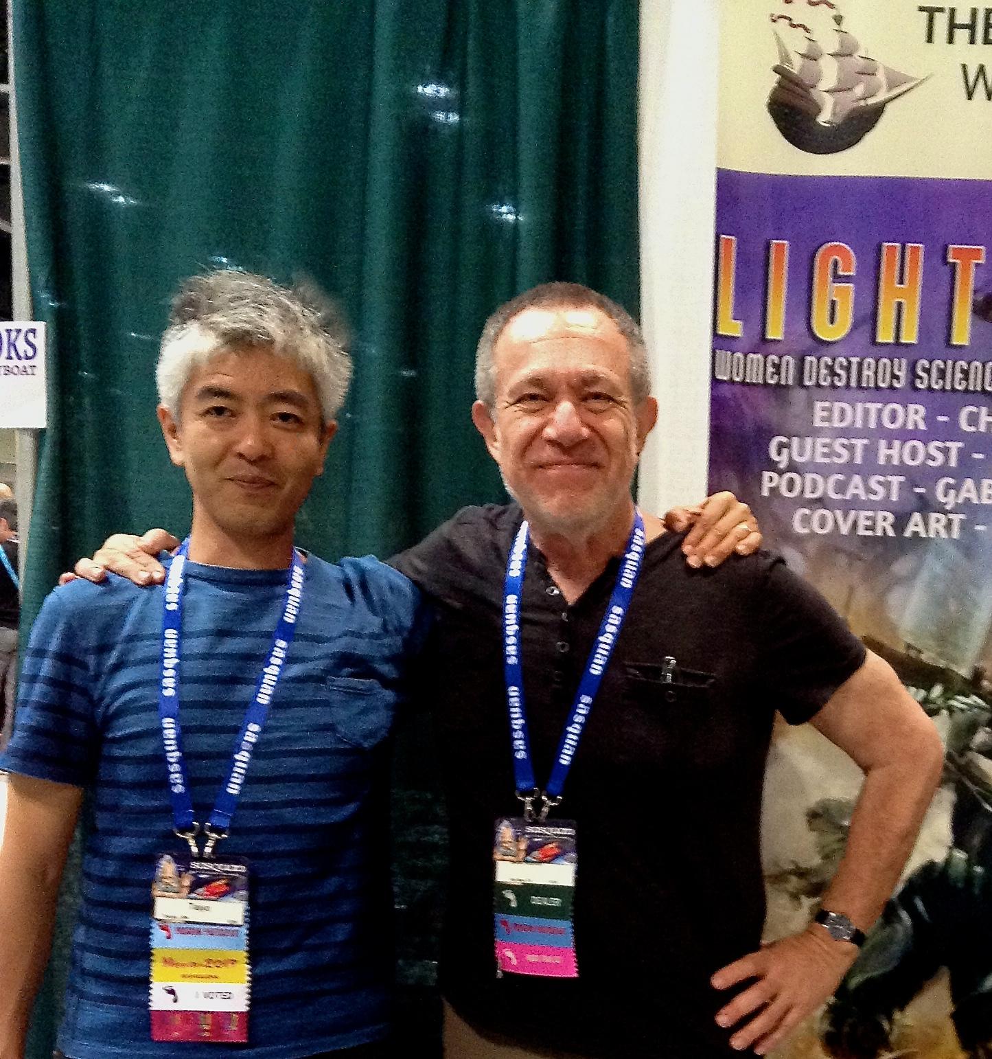 Author Taiyo Fujii and Stefan Rudnicki